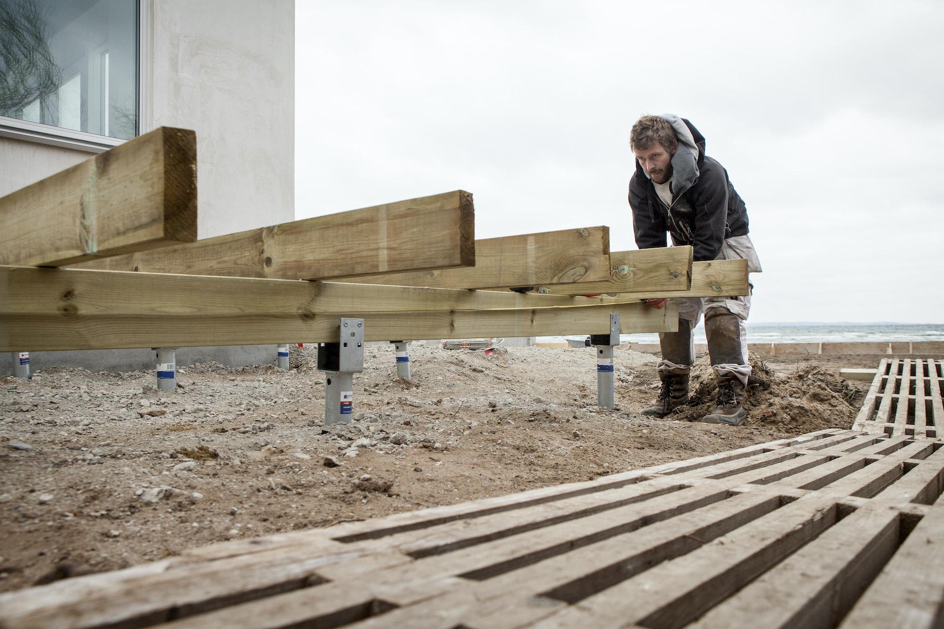 Tømrermestre: Kunderne vælger skruefundamenter