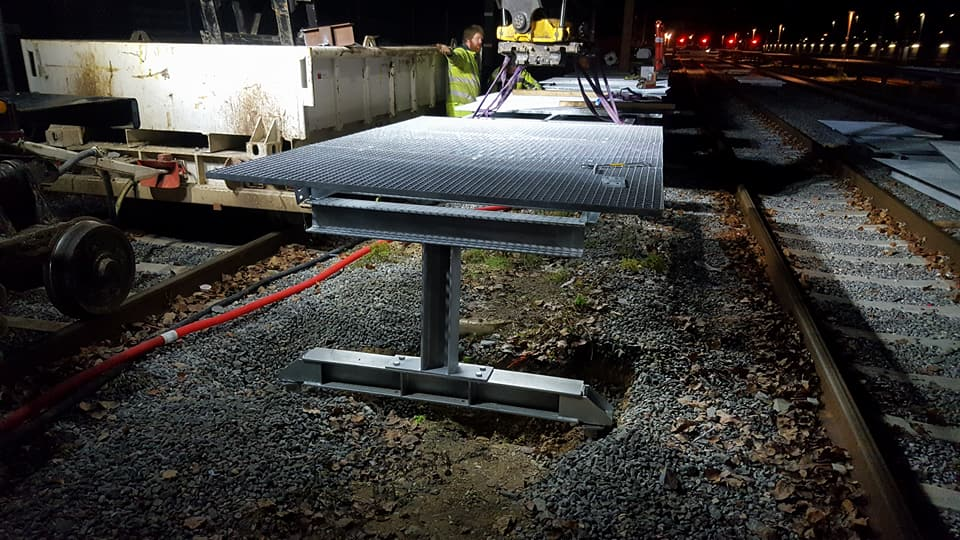 Forlængelse af rengøringsplatform ved Køge S-togsstation