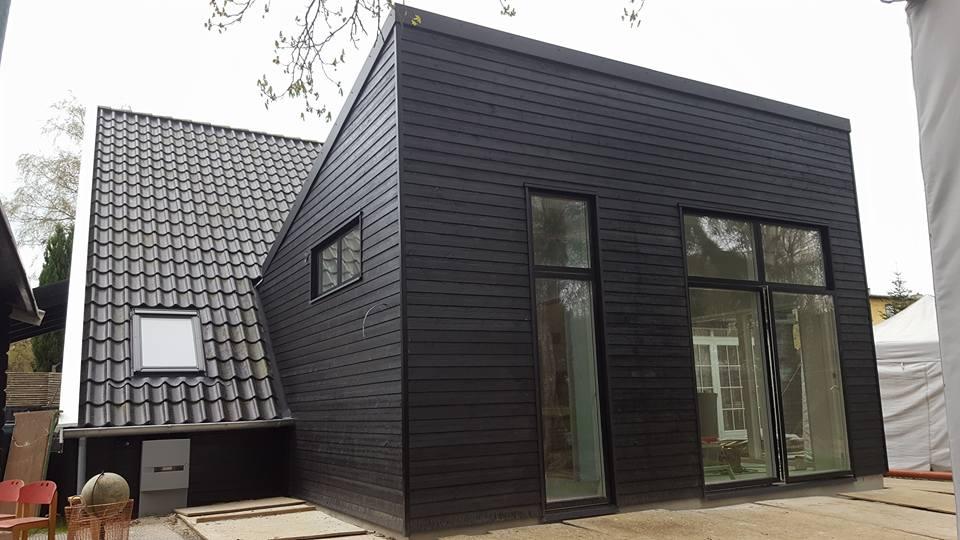 Tilbygning på skruefundamenter ved Aarhus
